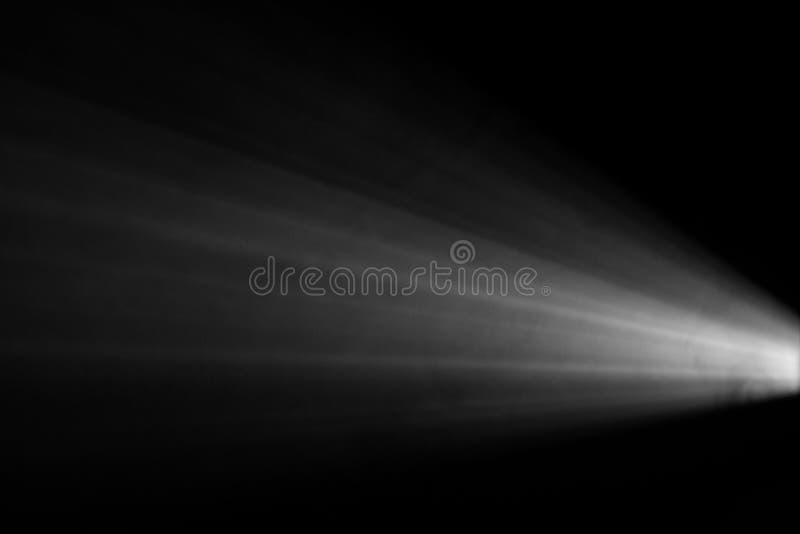 Dym textured światło reflektorów fotografia stock