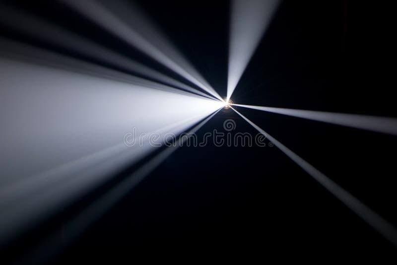 Dym textured światło reflektorów zdjęcia royalty free