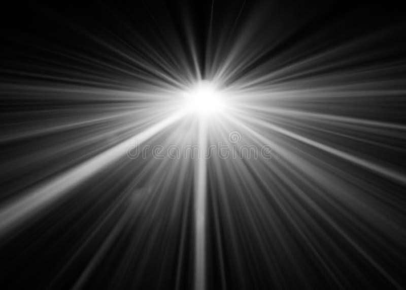 Dym textured światło reflektorów zdjęcia stock