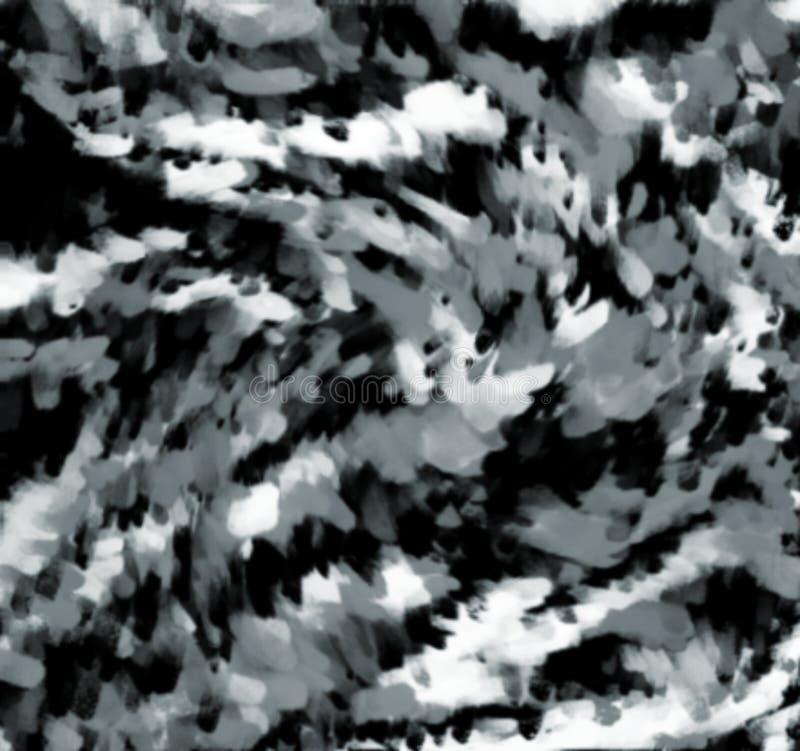 Dym wybuchu skutka komputer wytwarzający dla tła i tapetowego projekta royalty ilustracja