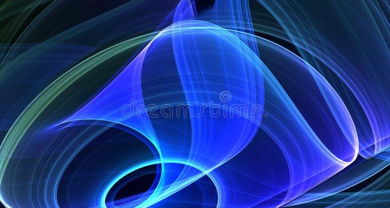 dymamic抽象的背景 向量例证