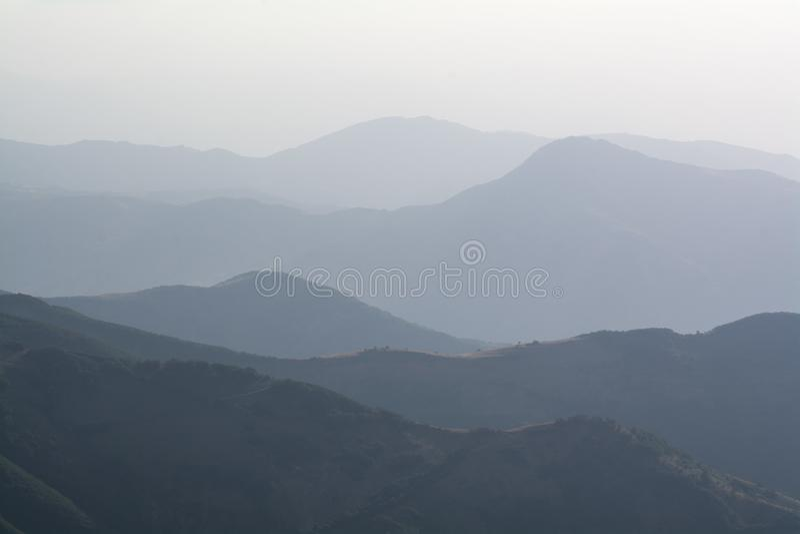 Dymiące halne granie zdjęcie royalty free