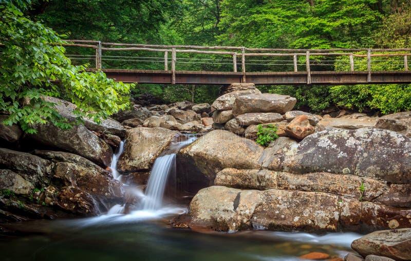 Dymiący góra park narodowy fotografia stock