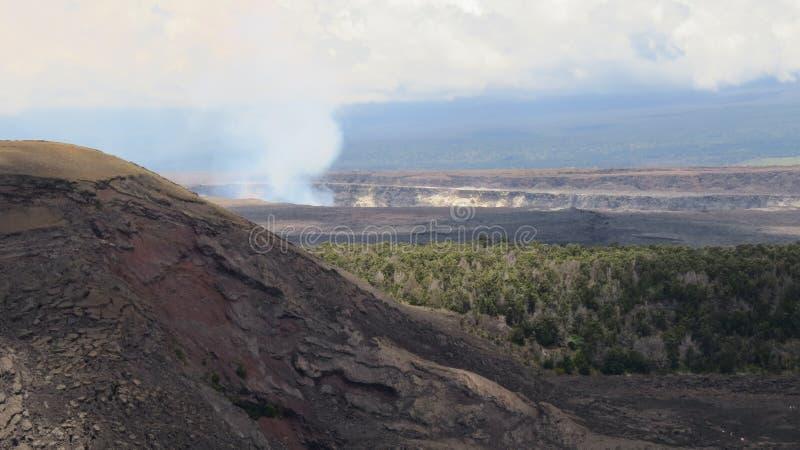 Dymiący Kilauea obrazy stock