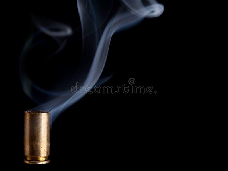 Dymienia pociska casing zdjęcie royalty free