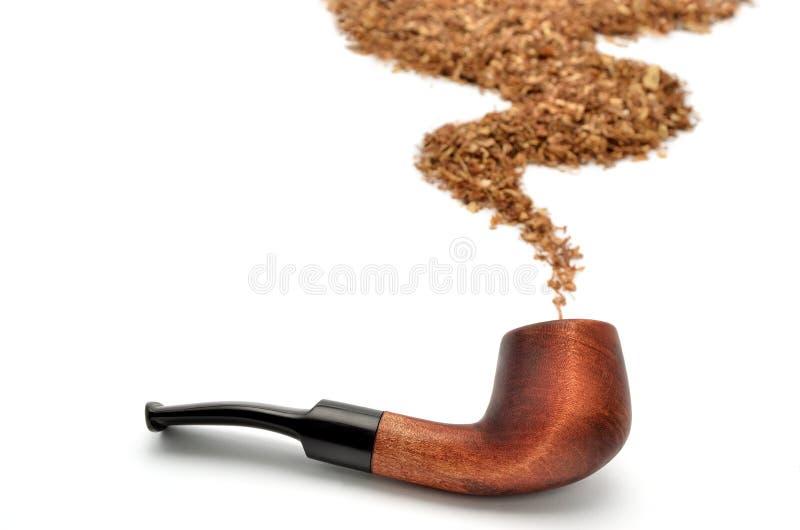 Dymienie tytoń i obraz royalty free