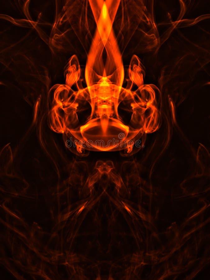Dymna fantazja ilustracji