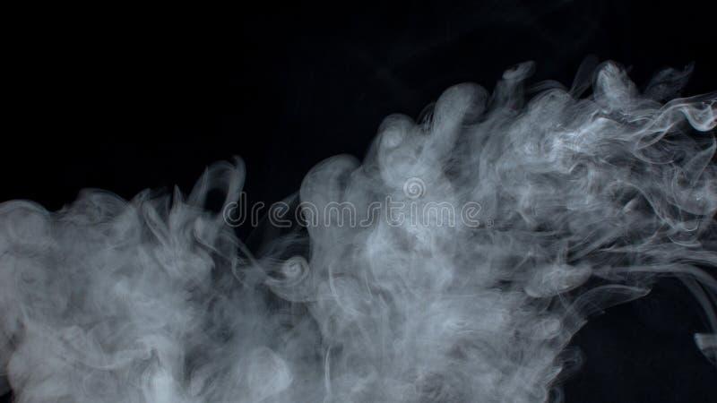 Dymne chmury fotografia royalty free