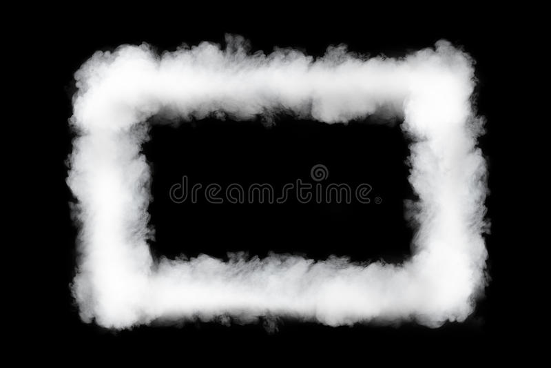Dymnej chmury rama obraz stock