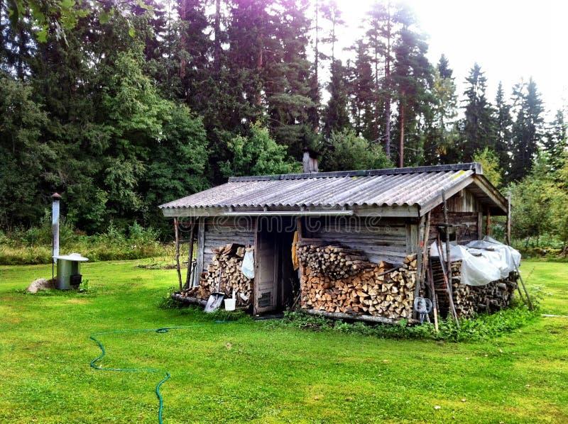 Dymny sauna obrazy stock