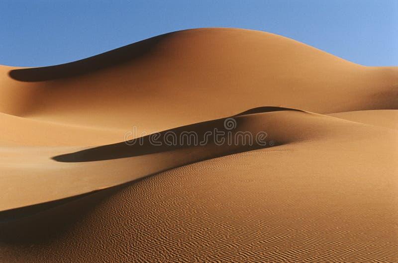 Dyn för Namibia Namib ökensand arkivbilder