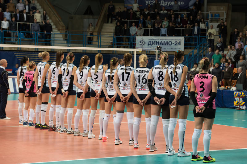 Dynama Kazan drużyna fotografia stock