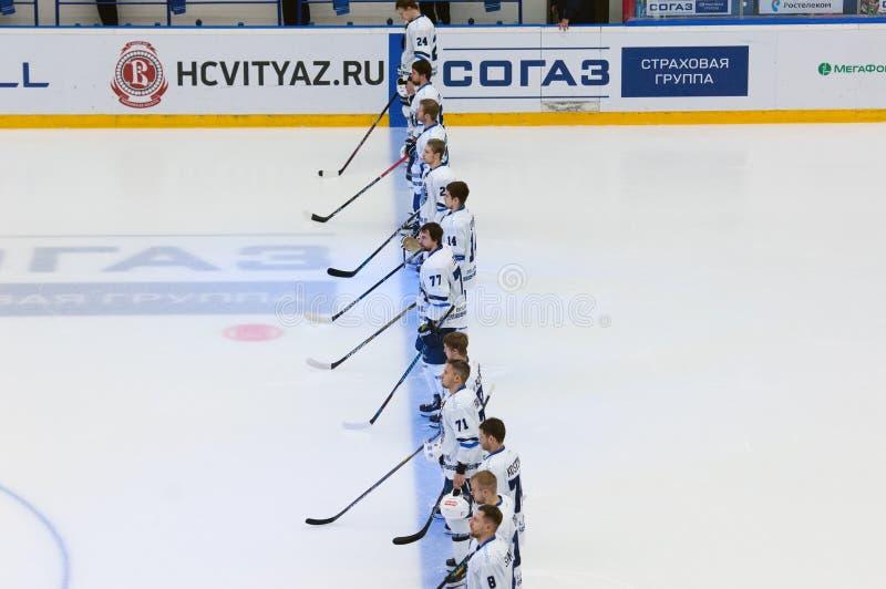 Dynama Minsk drużyna zdjęcia royalty free