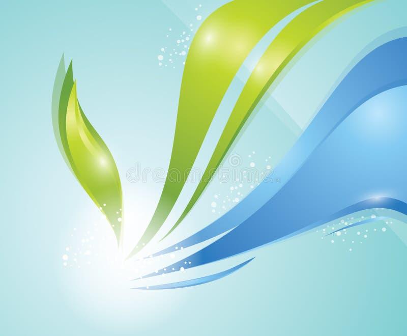 Dynamic Background stock illustration