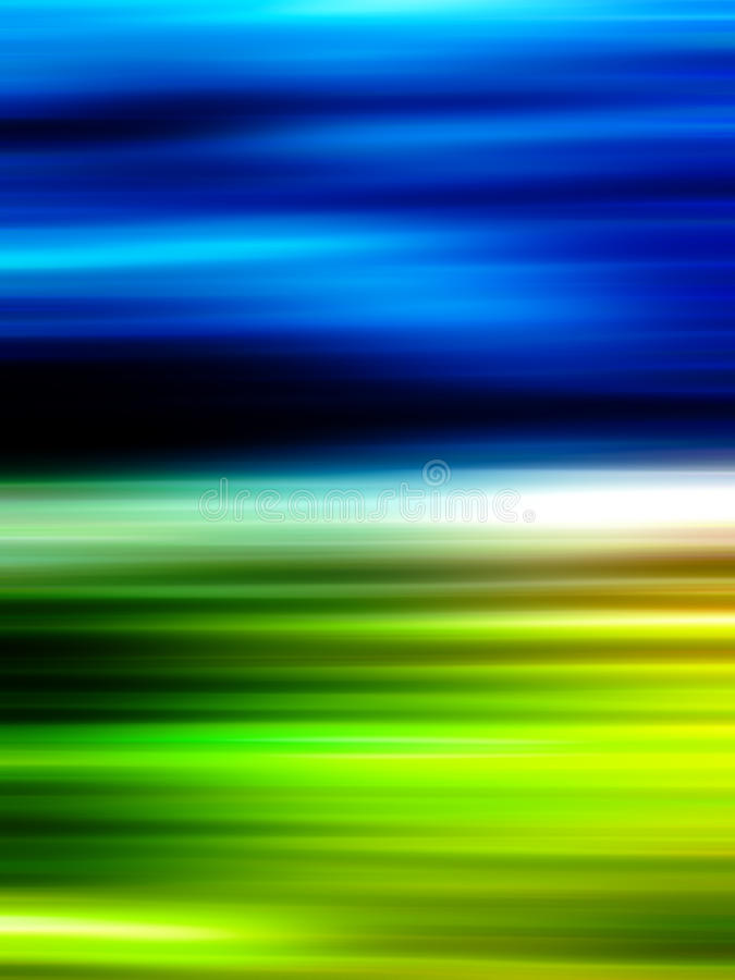 Dynamic Blue And Green Blurry Background Royalty Free Stock Image