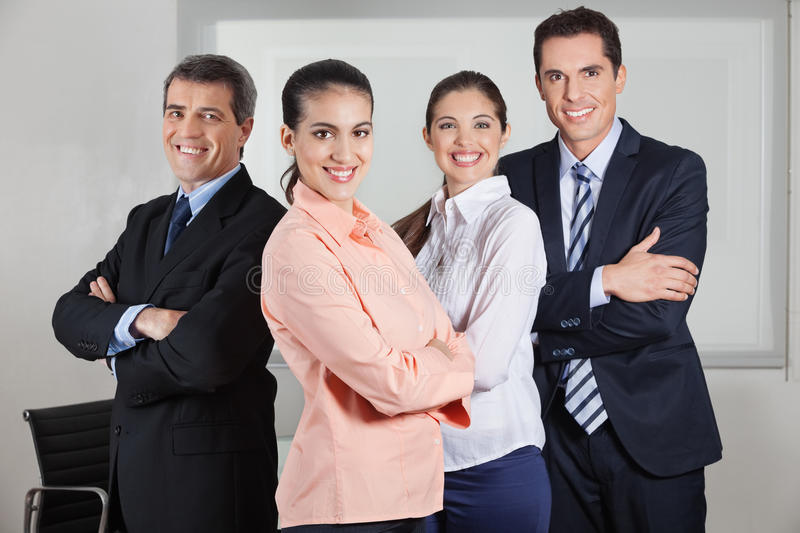 Download Dynamic Busines Team In Office Stock Photo - Image of manager, executive: 27481908