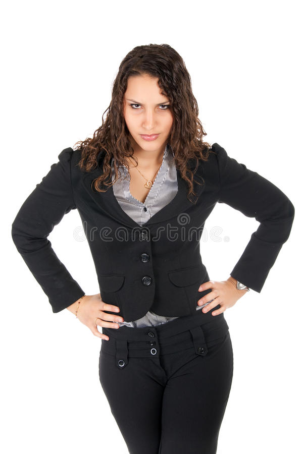 Dynamic Business Woman Royalty Free Stock Photography