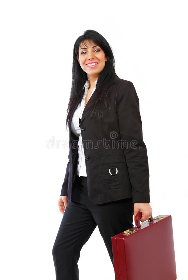 Download Dynamic businesswoman stock image. Image of getter, copy - 24096397