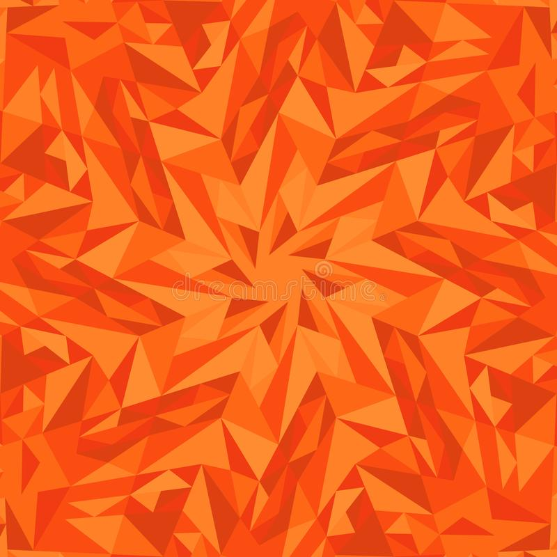 Dynamic abstract geometrical circular tile pattern background design stock illustration