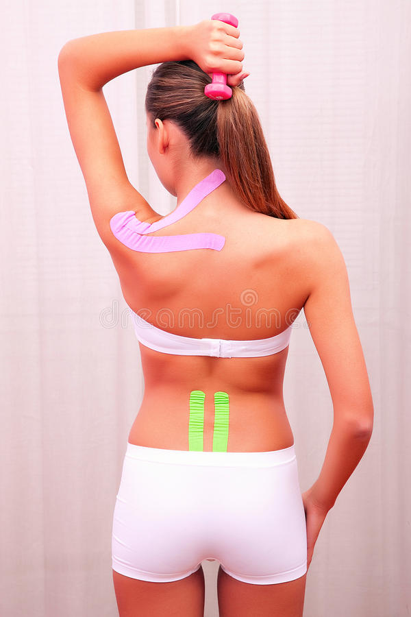 Download Dynamic Functional Bandage With Taping Stock Image - Image: 30780163