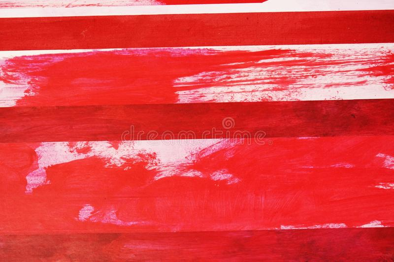 Dynamic image, background. Abstract image in red and white tints creating dynamic forms and the optical illusion of movement stock photography