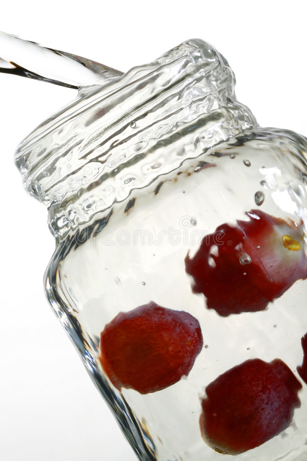 Download Dynamic Jar With Water Stock Photography - Image: 1714772