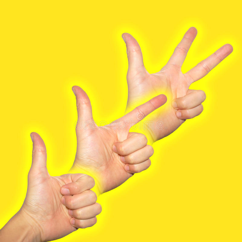 Download Dynamic progress stock image. Image of happy, finger - 21239867