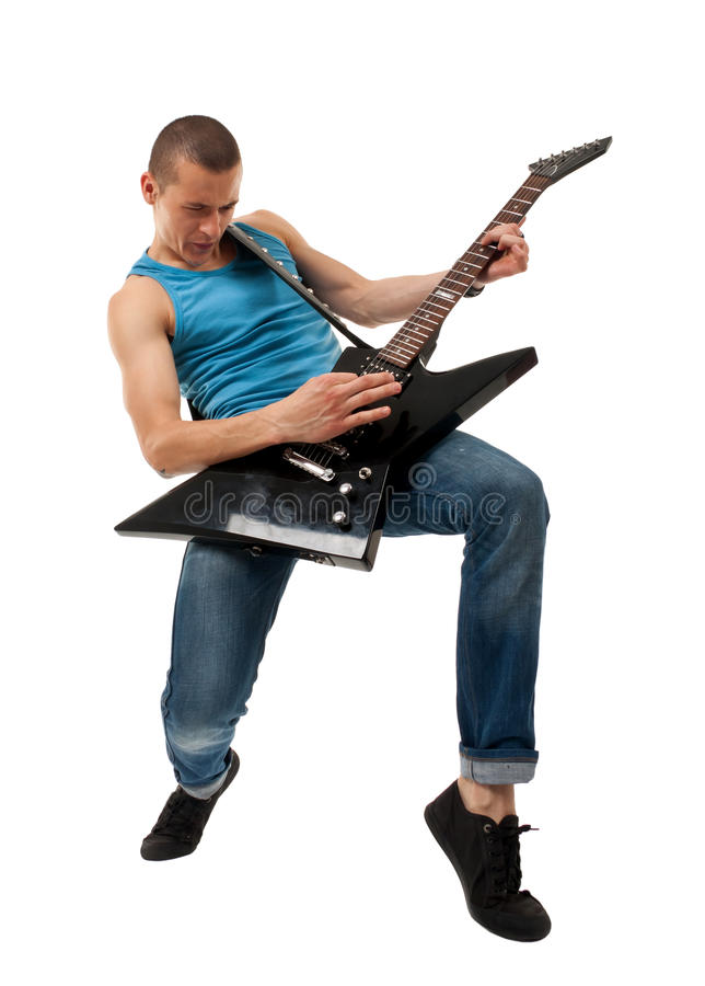 Dynamic Rock Star Royalty Free Stock Images