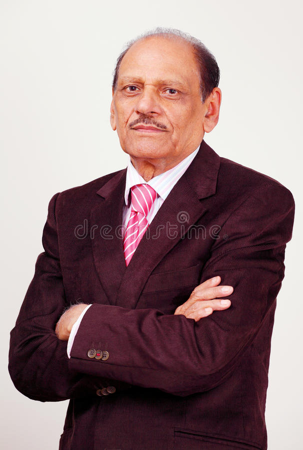 Download Dynamic senior businessman stock photo. Image of manager - 20025046