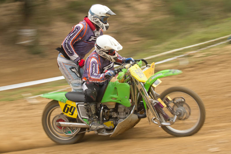 Download Dynamic Shot Of Two Racers Ride A  Sidecar Editorial Photo - Image: 26840046