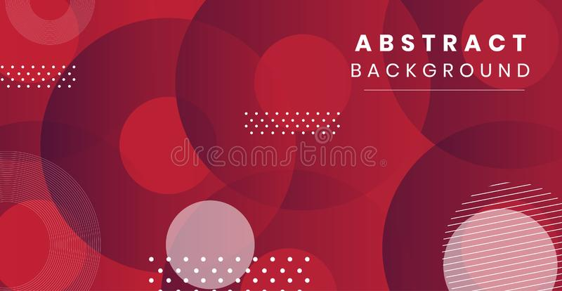Dynamic style abstract background design stock illustration