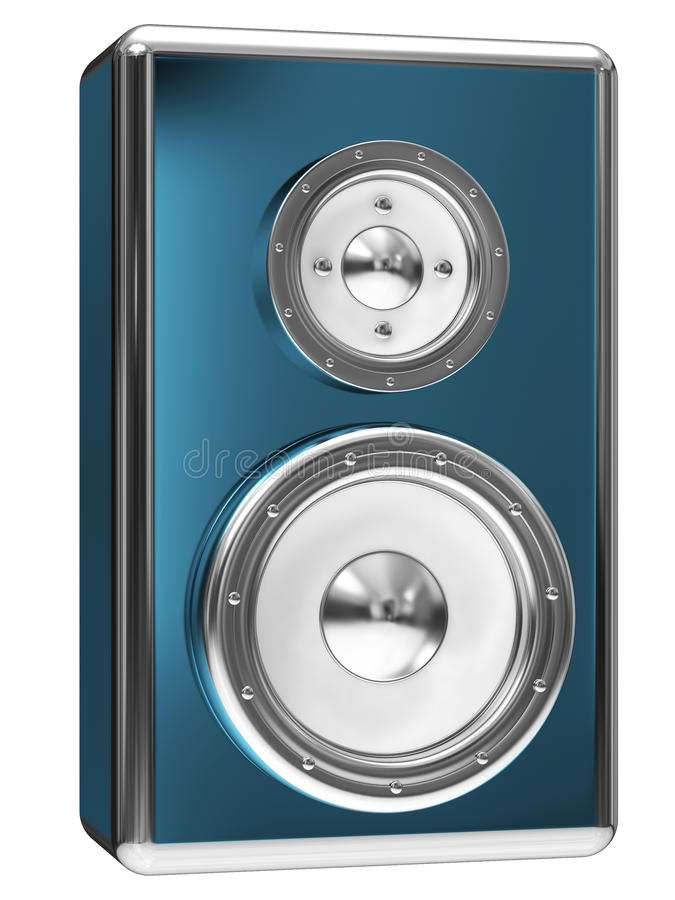 Dynamics Loudspeaker Royalty Free Stock Image