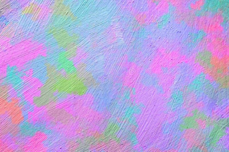 Dynamiczni radośni tła z żywymi opromienionymi kolorami ilustracji