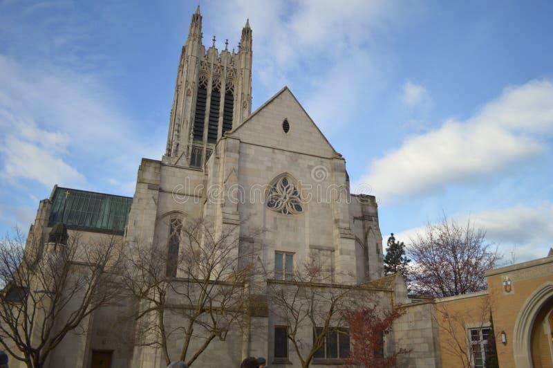 Dynamiczny kościół zdjęcia royalty free