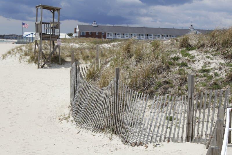 dynamiczny wydm wysokiego zasięgu piasku zdjęcie stock