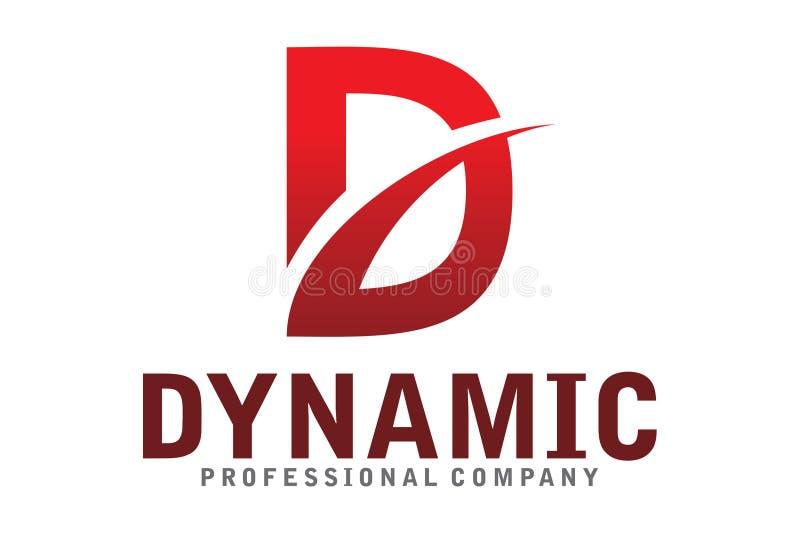 Dynamisch Embleem vector illustratie