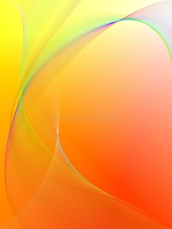 Dynamischer Wellenhintergrund lizenzfreie abbildung