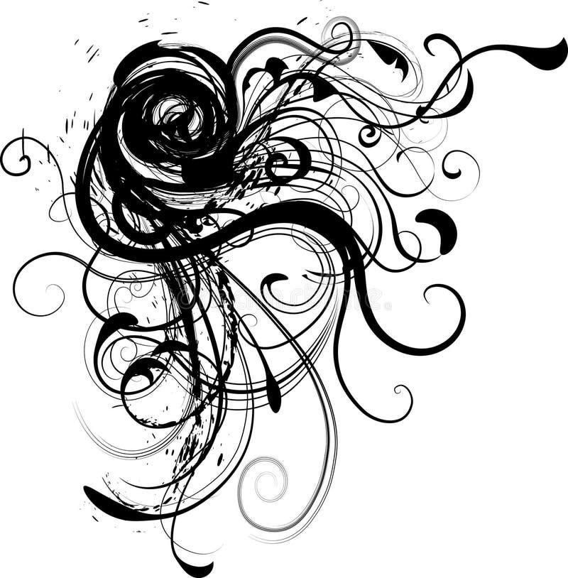 dynamisk illustrationvecor för hörn royaltyfri illustrationer