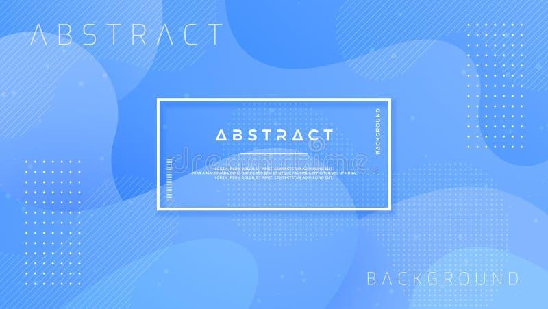 Dynamisk texturerad bakgrundsdesign i stil 3D med blå färg vektor för bakgrund eps10 vektor illustrationer