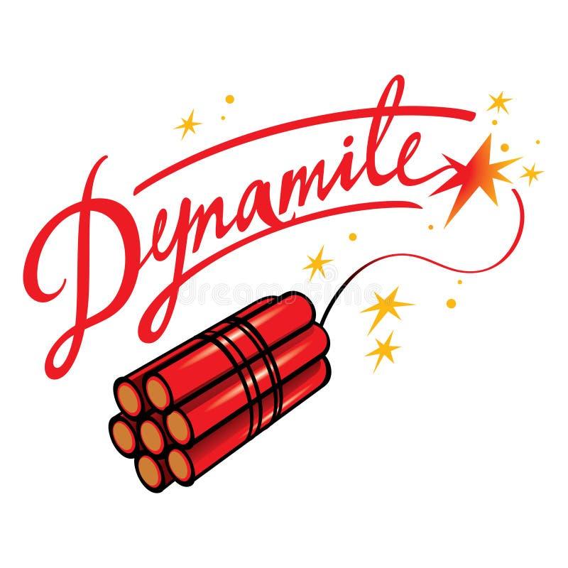 dynamit stock illustrationer