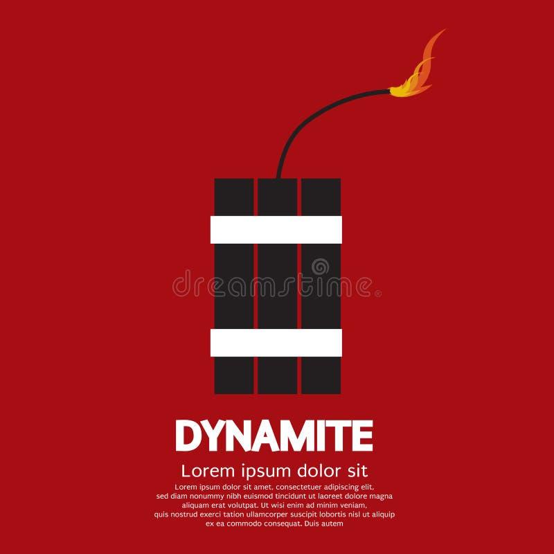 Dynamite illustration de vecteur
