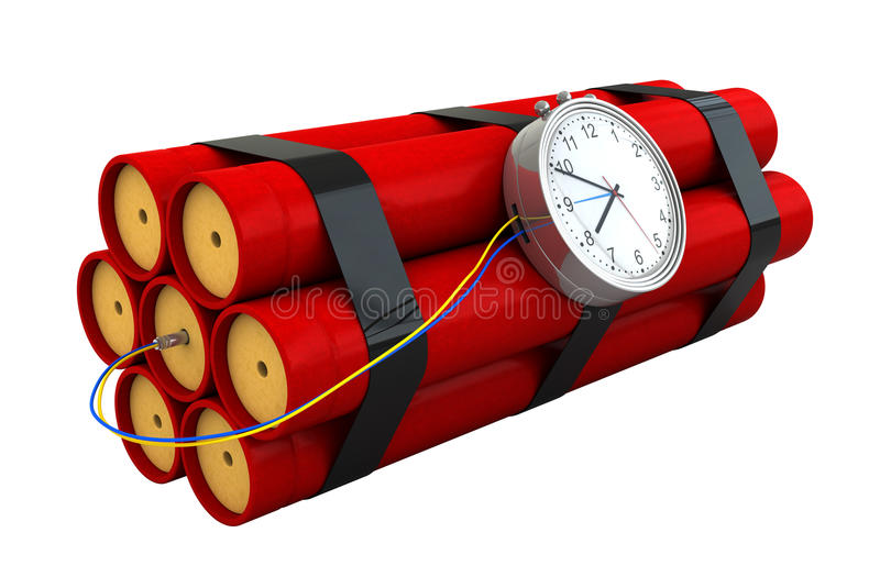 Dynamite Royalty Free Stock Image
