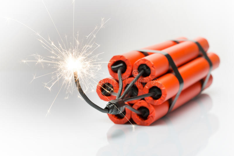 Dynamite stock image