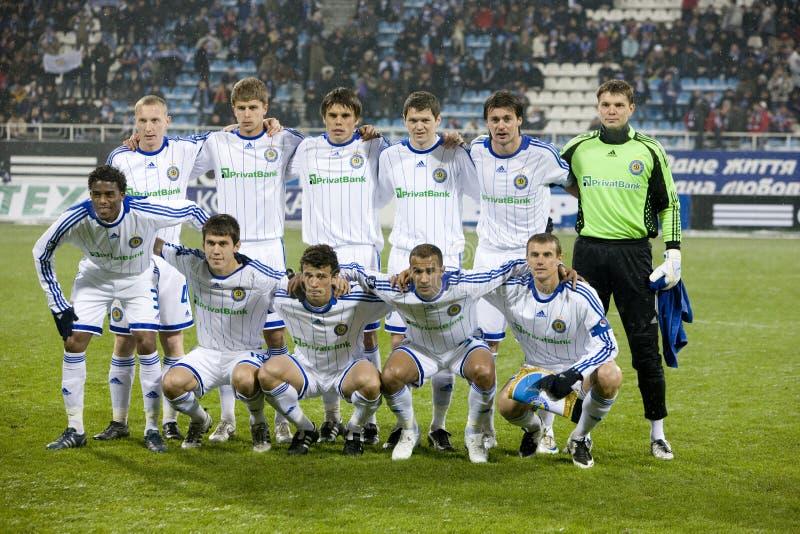 Dynamo d'équipe (Kiev) image stock