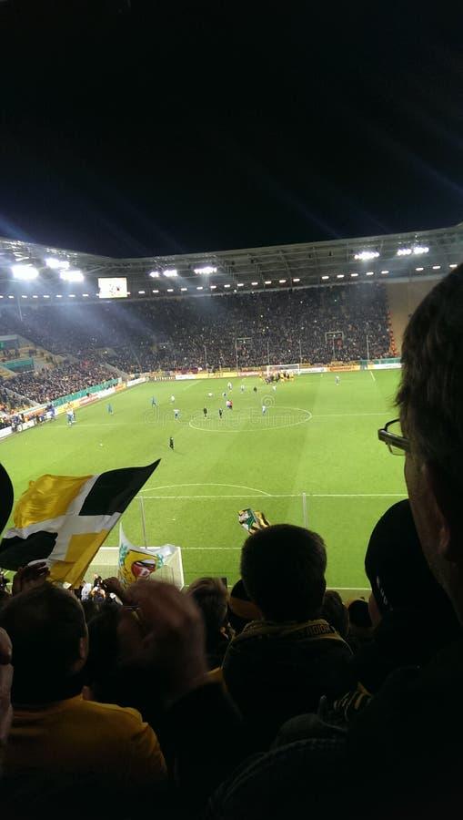 Dynamo Dresden lizenzfreie stockfotografie