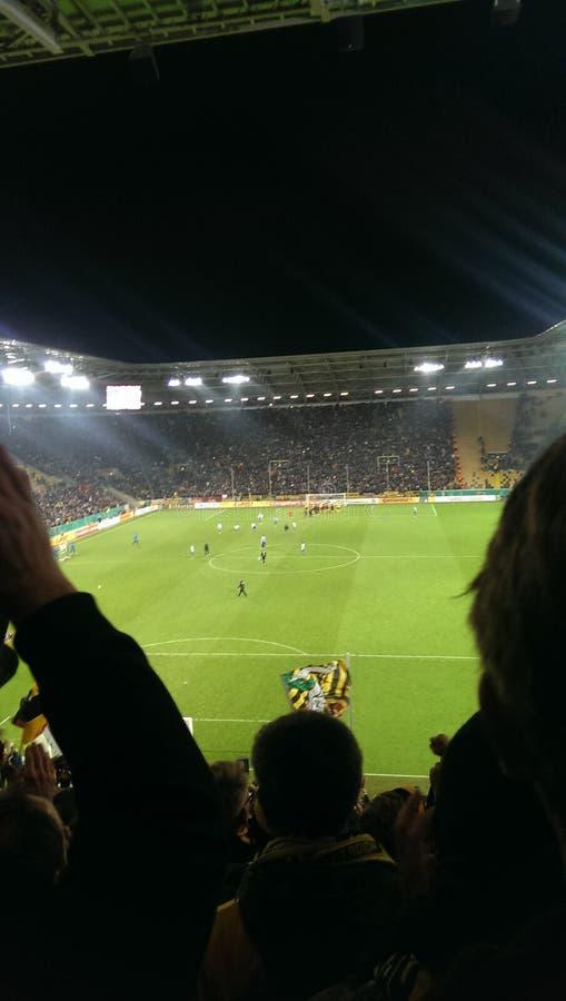 Dynamo Dresden lizenzfreie stockbilder