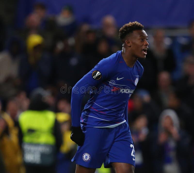 Dynamo Kiew - UEFA Europa League-Runde Chelseas V von 16: Erstes Bein stockfotos