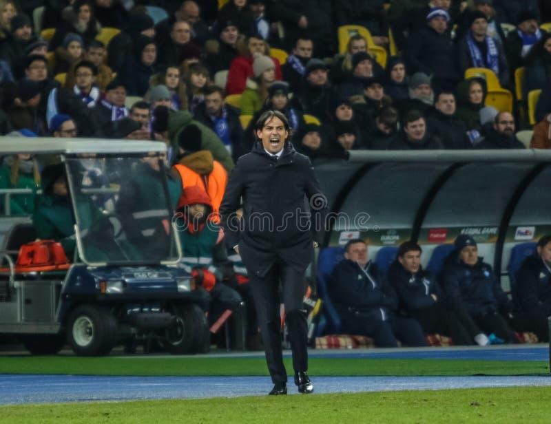 Dynamo Kyiv contre solides solubles Latium photo stock