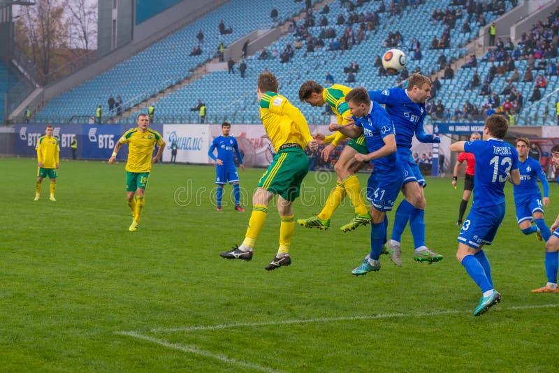 Dynamo (Moskwa) vs Kuban (Krasnodar) obrazy stock