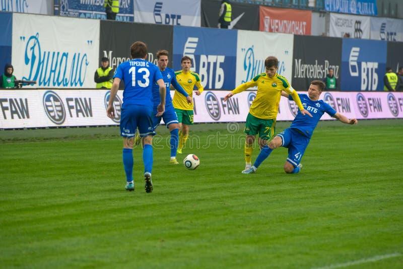 Dynamo (Moskwa) vs Kuban (Krasnodar) zdjęcie royalty free